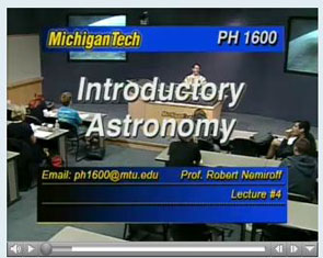 Free Online Astronomy Classes